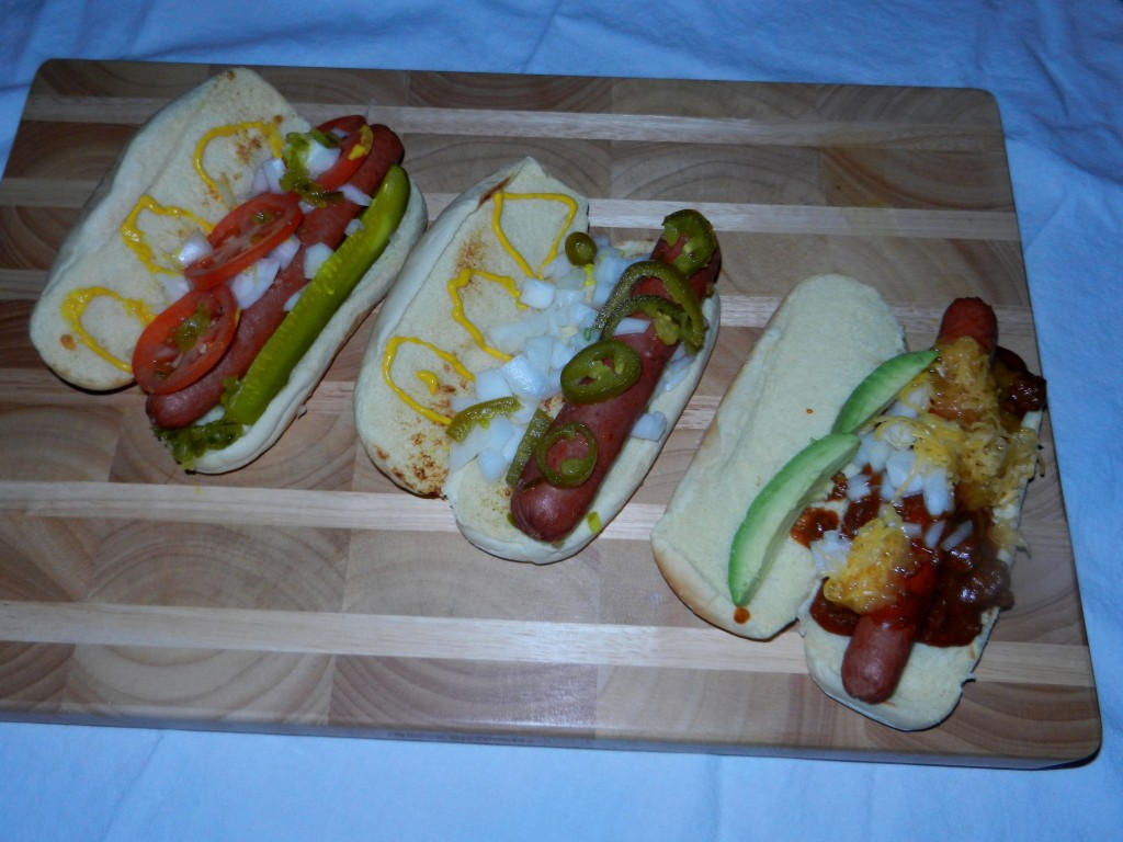 Hot dog buffet