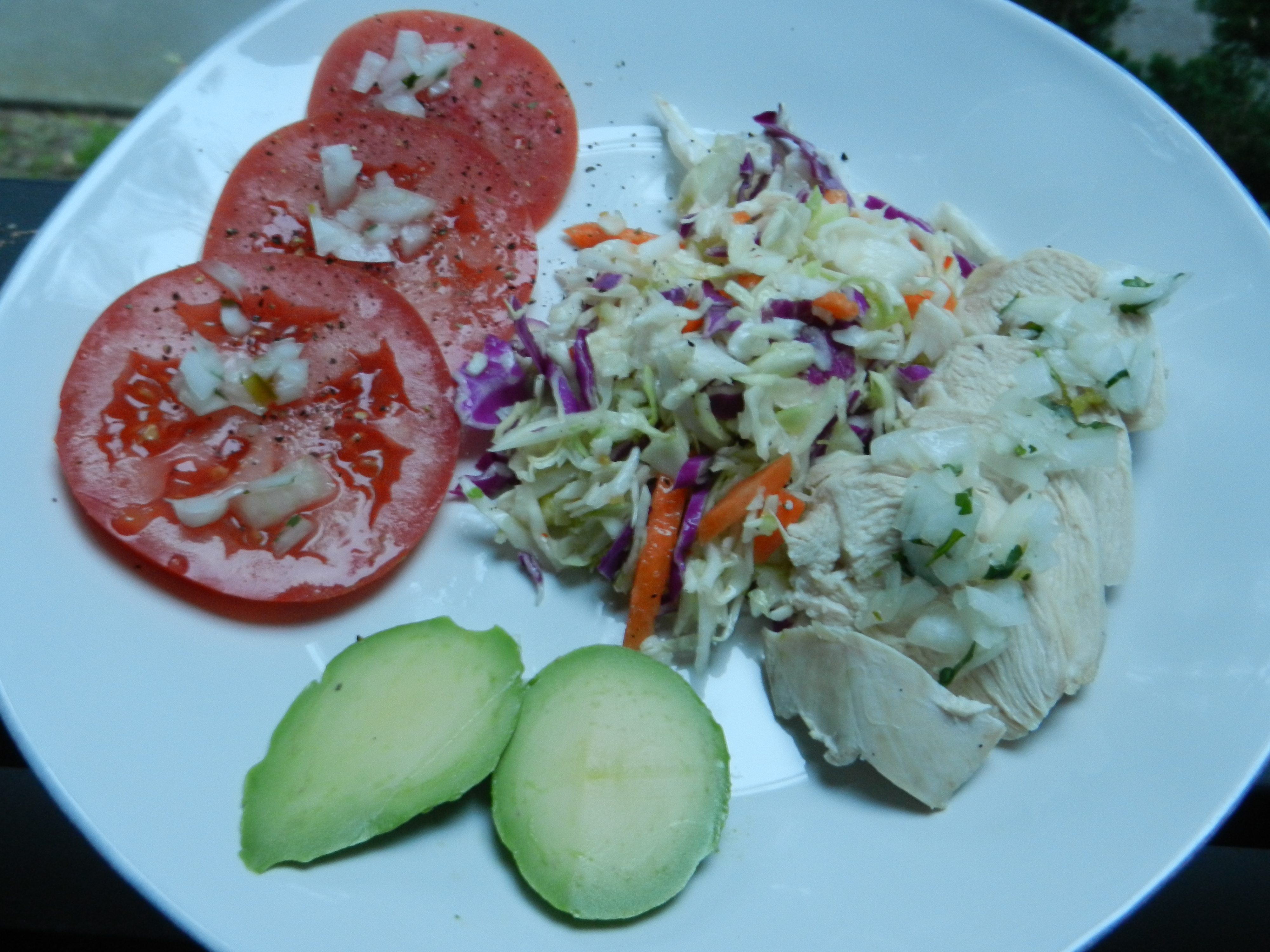 Poached Chicken Salad | EASY RECIPES AND STUFF